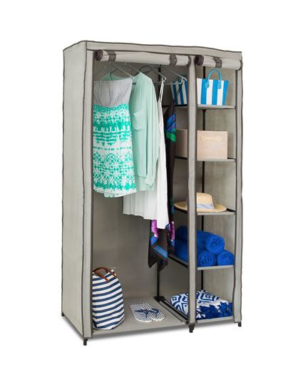 Picture of 4 Shelf Hanging Wardrobe