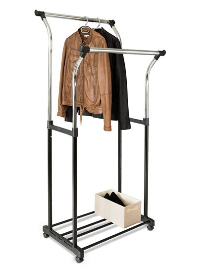 Picture of Adjustable Double Garment Holder