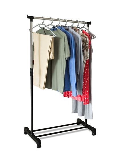 Picture of Single Rail Garment Holder