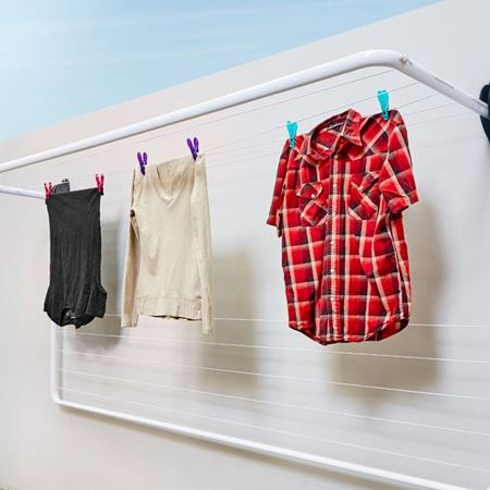 Picture for category Wall Mounted folding frame clotheslines
